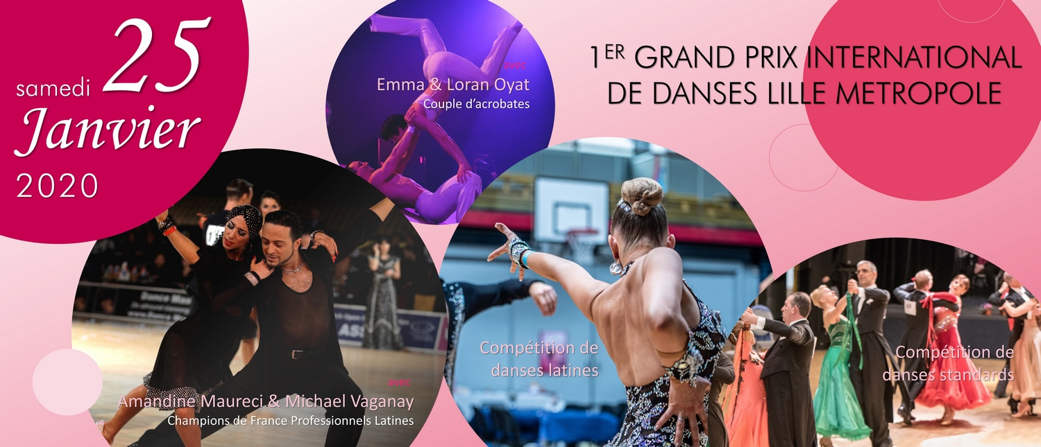Grand Prix International de Danses de Lille Metropole - Compétition de danse sportive